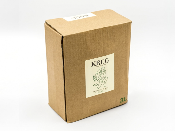 KRUG WEIN IN DER BAG IN BOX